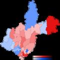 Second round of 2015 Irkutsk Oblast gubernatorial election map.png
