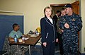 Secretary Clinton Visits Comfort Clinic in Haiti (3450762064).jpg