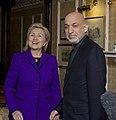 Secretary Clinton With President Karzai (4311463831).jpg