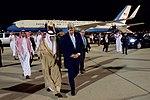 Secretary John Kerry Walks With Saudi Arabia Foreign Minister Adel al-Jubeir at Jeddah International Airport (26920503982).jpg