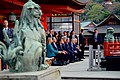 Secretary Kerry Sits With Japanese Foreign Minister Kishida and His Counterparts at the Miyajima Island (26252716252).jpg