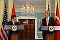 Secretary Kerry and Turkish Foreign Minister Davutoglu Address Reporters (10932496644).jpg