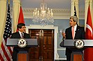Secretary Kerry and Turkish Foreign Minister Davutoglu Address Reporters (10932496644).jpg