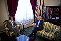Secretary of Navy With Latvian Ambassador 101006-N-+++++-179.jpg
