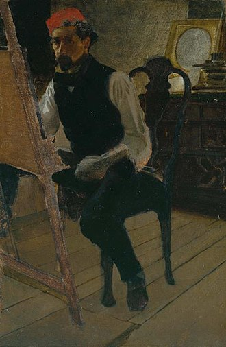 Charles Keene (artist) - Self-Portrait of Charles Samuel Keene.