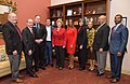 Senator Stabenow meets with representatives of Lansing Community College (32751554002).jpg