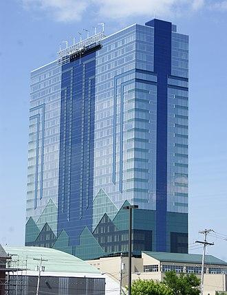 Seneca Niagara Casino & Hotel - View of front entrance
