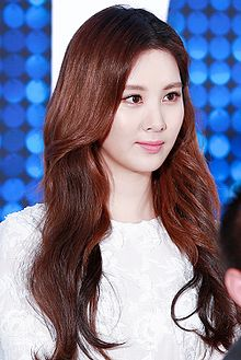 Seohyun at musical Mamma Mia press conference in January 2016 03.jpg