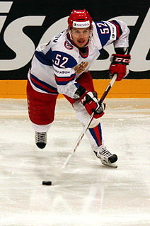 Sergei Shirokov Russian ice hockey player