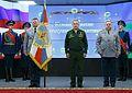 Sergey Shoigu, Andrey Serdyukov, Vladimir Shamanov (10-10-2016) 02.jpg