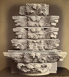 Series of Indo-Corinthian capitals from Jamal-Garhi.jpg