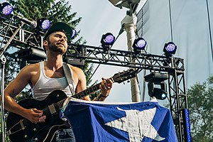 Shakey Graves - Shakey Graves at 2015 Interstellar Rodeo, Edmonton, Canada