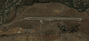 Shigatse Peace Airport - Image: Shigatse Airport Sentinel 2