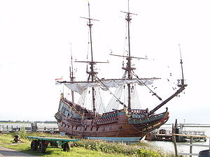 Ship replica of the Batavia