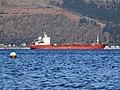 Ship passing Inverkip - geograph.org.uk - 2608239.jpg