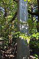 Shirahata Tenjinsha - stone for shrine name.jpg