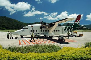 airport in Seychelles
