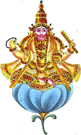 Shukra - Shukra as the deity of Venus graha