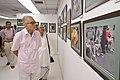 Shyamal Kumar Sen and Biswatosh Sengupta Visiting 43rd PAD Group Exhibition - Kolkata 2017-06-20 0379.JPG