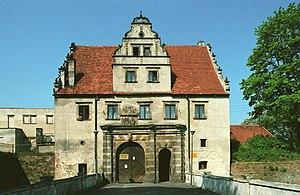Siedlisko, Nowa Sól County - Castle gate