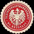 Siegelmarke Bezirkshauptmannschaft Wiener Neustadt W0261127.jpg