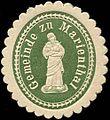 Siegelmarke Gemeinde zu Marienthal W0314157.jpg