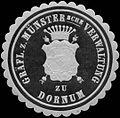 Siegelmarke Gräfl. zu Münstersche Verwaltung zu Dornum W0314571.jpg