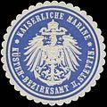 Siegelmarke K. Marine Küsten-Bezirksamt II W0337648.jpg