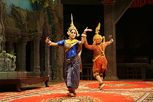 Dance in Cambodia - Image: Siem Reap Dance of Cambodia (4)