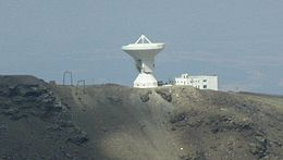 Description de l'image  SierraNevadaObservatoryRadioTelescope.JPG.