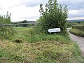 Sign to Avalon Vineyard - geograph.org.uk - 567375.jpg
