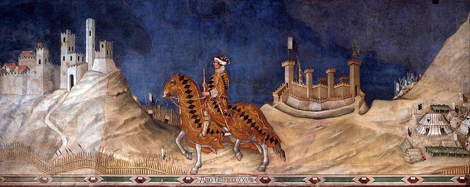 Simone Martini - Guidoriccio da Fogliano - Google Art Project