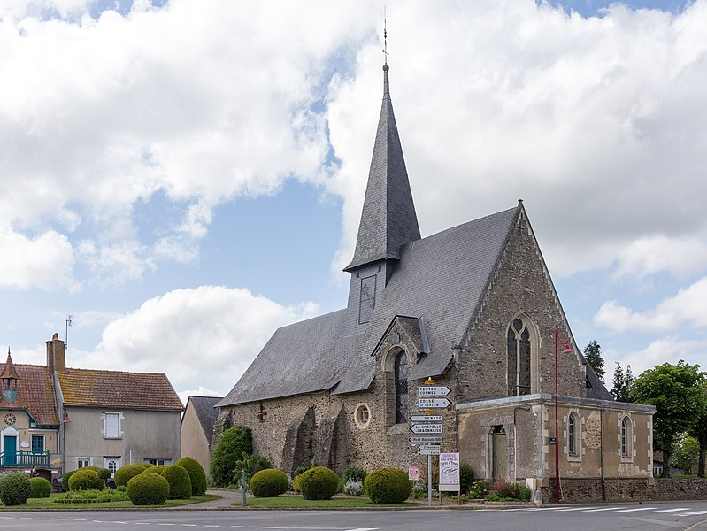 Church of Simplé.