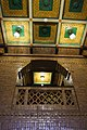 Sint Hubertus Hoge Veluwe 0047 - Main hal ceiling and balcony (detail).jpg