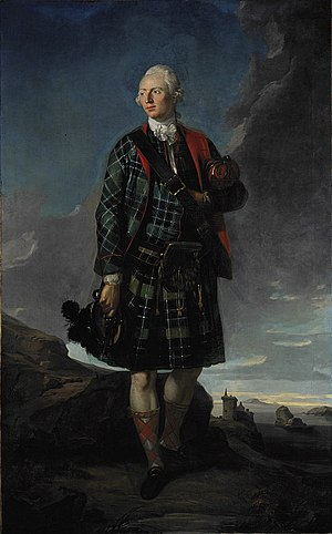 Clan Macdonald of Sleat - Sir Alexander Macdonald, 9th Baronet of Sleat and 1st Baron Macdonald of Slate