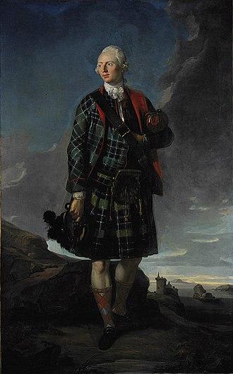 Clan Macdonald of Sleat - Sir Alexander Macdonald, 9th Baronet of Sleat and 1st Baron Macdonald of Slate