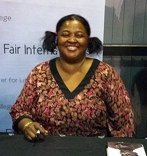 Sister Souljah - Sister Souljah at the Miami Book Fair International, November 21, 2015