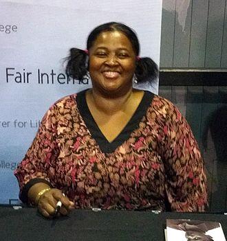 Sister Souljah - Sister Souljah at the Miami Book Fair International, November 21, 2015