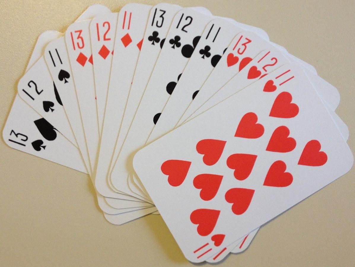 Kartenspiel Kreuzworträtsel 5 Buchstaben