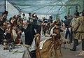 Skandinaviska konstnärernas frukost i Café Ledoyen - Fernissningsdagen 1886.JPG