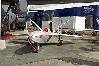 Alenia Aermacchi Sky-X - Sky-X at Paris Air Show 2007