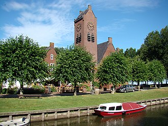 Sloten, Friesland - Image: Sloten Friesland Kapelstreek 223