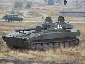 2S1 Gvozdika - Image: Slovak 2S1 Gvozdika