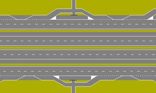 Local–express lanes