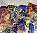 Society at a Table by Aristarkh Lentulov (1916).jpg