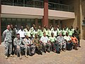 Soldiers and civilians complete disaster management workshop in Botswana (4499993140).jpg
