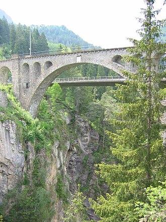 Solis Viaduct - Image: Solisbruecke