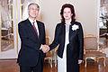 Solvita Āboltiņa tiekas ar Japānas vēstnieku (8243341657).jpg