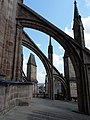Sommet du clocher de la cathédrale Notre-Dame de Rodez 01.JPG