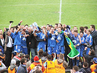 South Melbourne FC - South Melbourne celebrate their 2006 VPL title